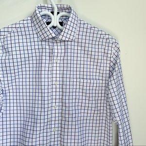 Tommy Hilfiger slim fit checkered pattern shirt